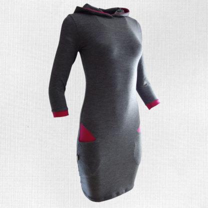 úpletové šaty