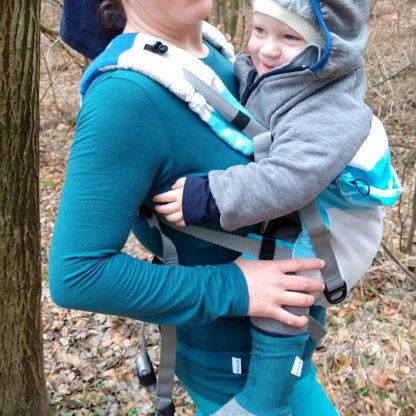 merino tričko na dojčenie dlhý rukáv