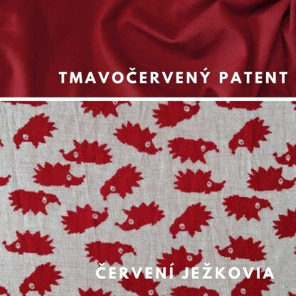 Červení ježkovia - tmavočerevný patent
