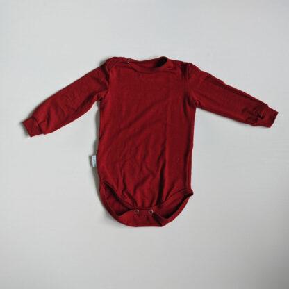 Detské merino body elastické dlhý rukáv