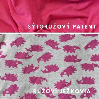 Ružový ježko - ružový patent