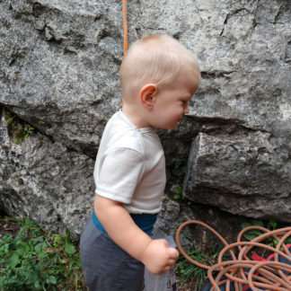 detské merino body