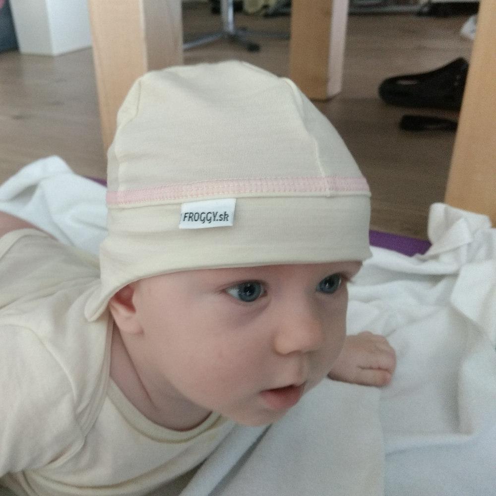 d90d25034 Detská merino čiapka tenká | Froggywear.sk