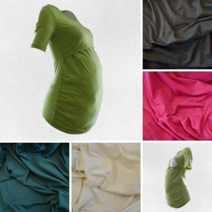 Tehotenské a dojčenské merino tričko Kováčová