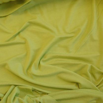 Merino elastanové limetková zelená