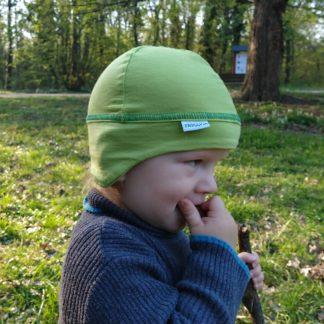 destka ciapka z merino vlny Bab