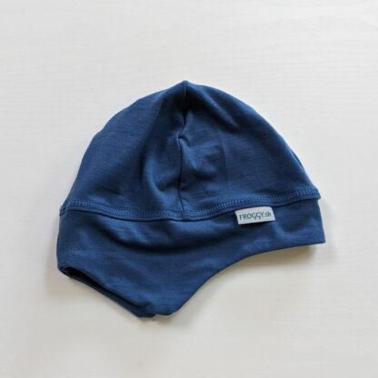 Elastická termo čiapka pre deti z merino vlny