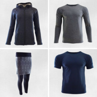 Merino oblečenie - bežné nosenie