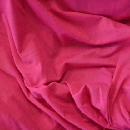 Merino elastanové ružová