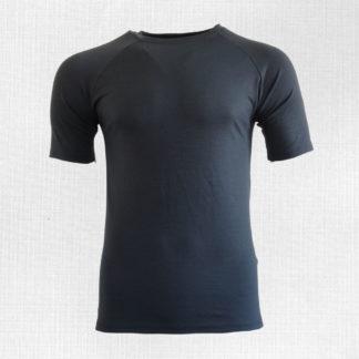 merino trićko tmavo sivé