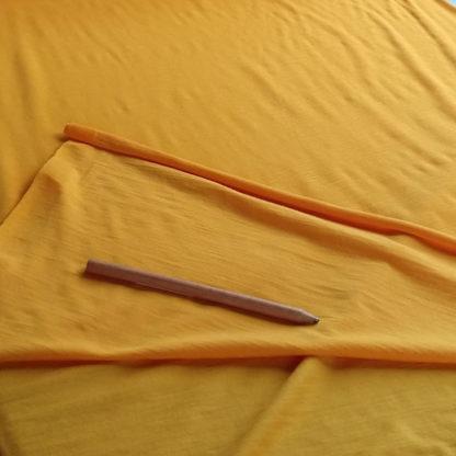 merino elastan - žlto oranžová