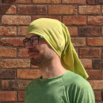 Outdoor šatka na hlavu z merina