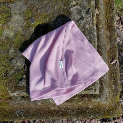 Vlnený nákrčník Bôrik ružový