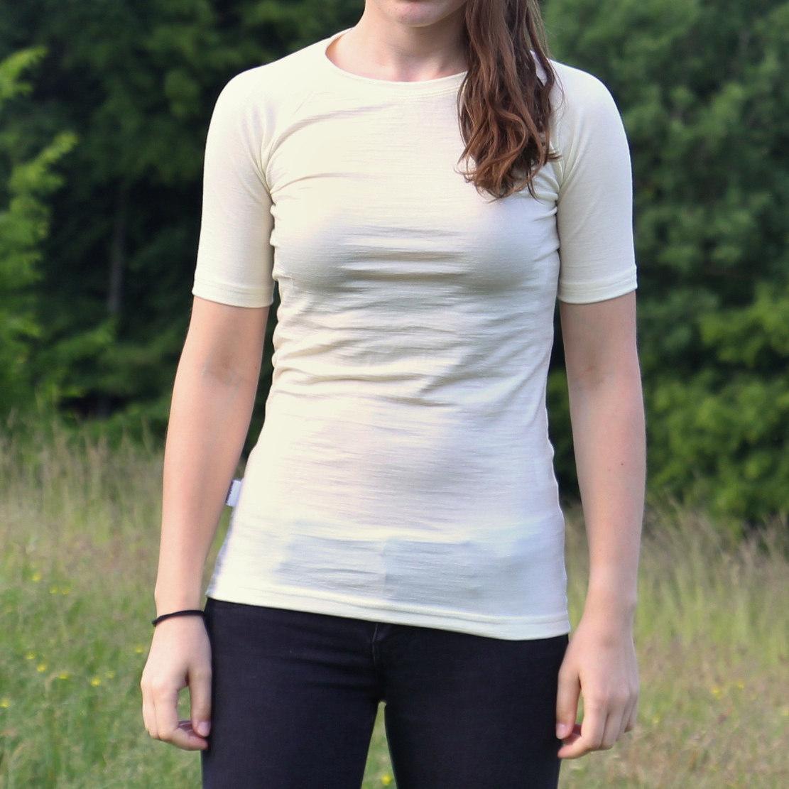 dámske tričko merino vlna