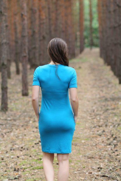 letné merino šaty