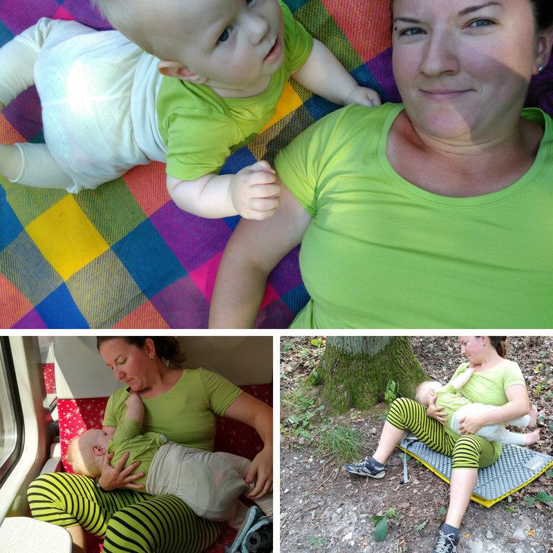 merino tričko na dojčenie