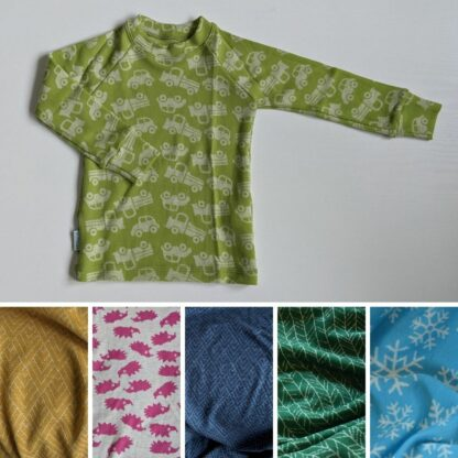Teplé merino tričko pre deti