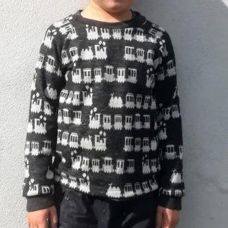 detské termo tričko merino