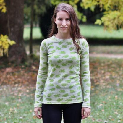 Termo tričko z merina pre dámy