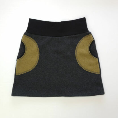 Dámska teplá sukňa z merino vlny hrubá