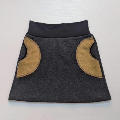 Termo sukňa z merino vlny pre dámy
