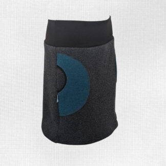 Dámske merino sukňa s vreckami