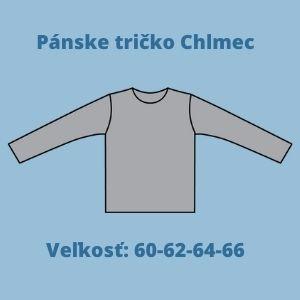 Pánske nadrozmerné merino tričko s dlhým rukávom