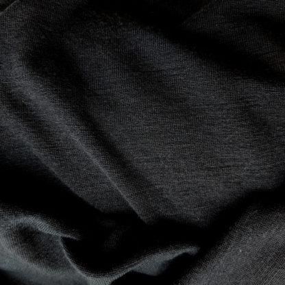 Merino úplet 300 g čierna