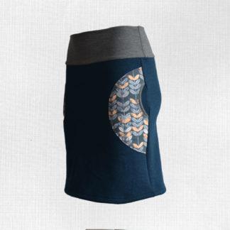Dámska merino sukňa Oamaru
