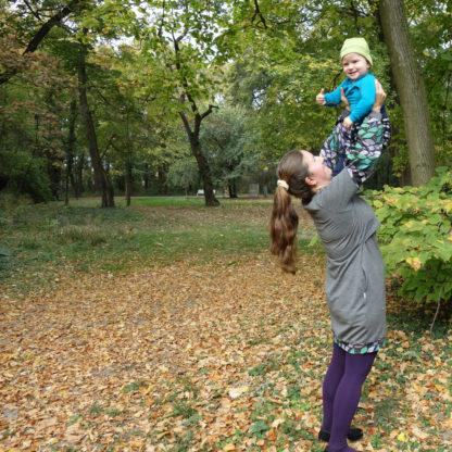 úpletové merino šaty na dojčenie