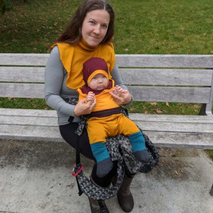 Teplé merino oblečenie pre mamu aj dieťa