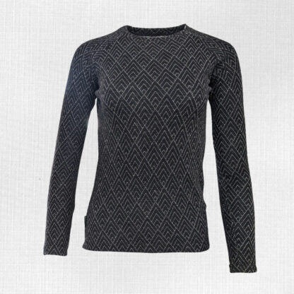 Teplé dámske tričko z merina