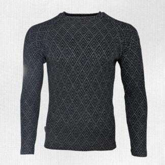 Hrubé pánske tričko z merino vlny