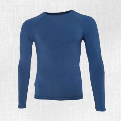 Pánske merino tričko elastické dlhý rukáv