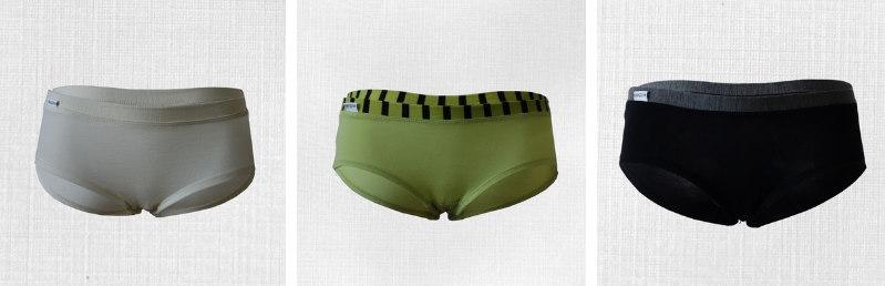 dámske merino spodné prádlo