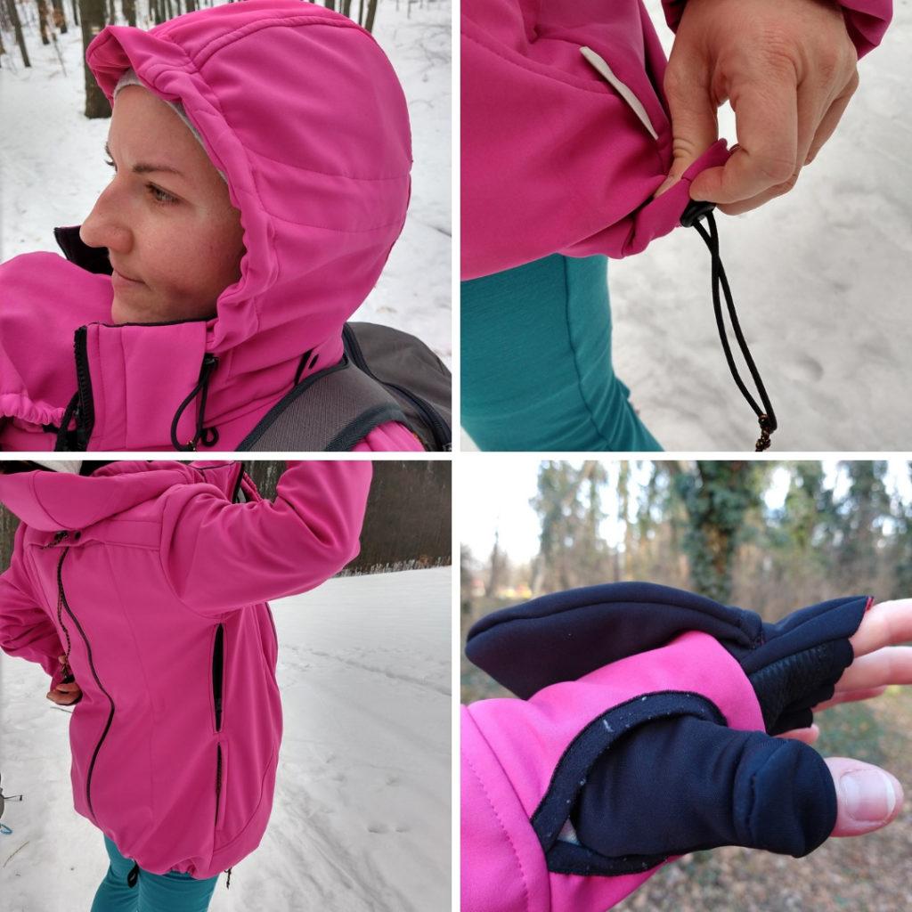 nosičská softshell bunda