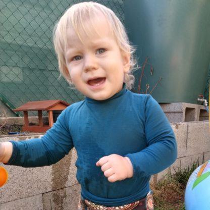 Body Bobrov z merino vlny detské