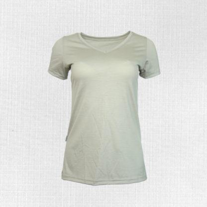 dámske merino tričko s véčkom