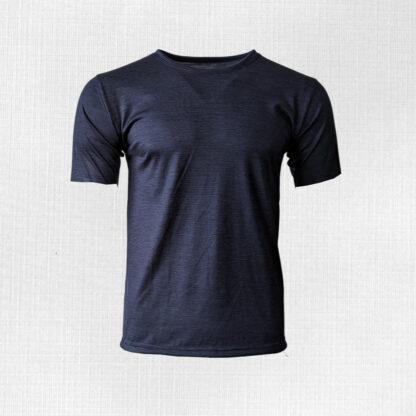 Pánske pásikavé tričko z merino vlny