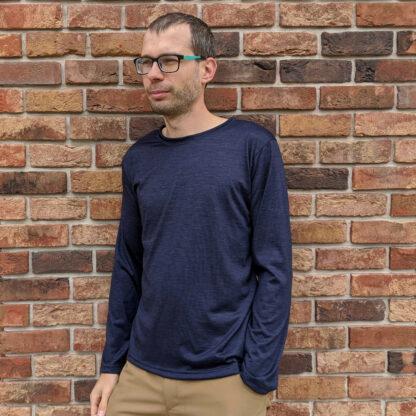 Pánske merino tričko Hruštín