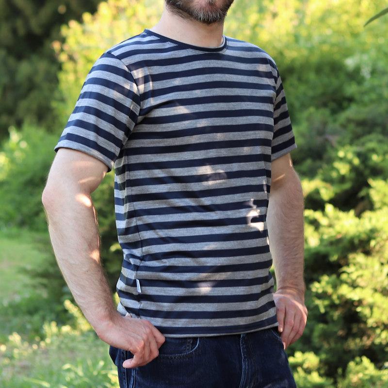 námornícke merino tričko