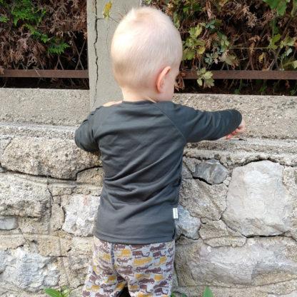 detské funkčné tričko merino s dlhým rukávom