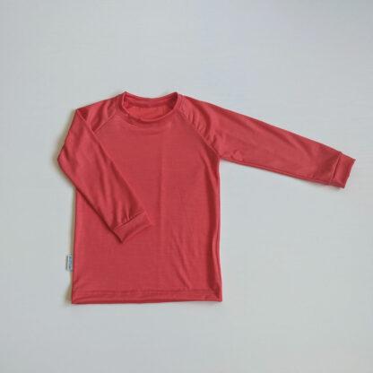 Merino oblečenie pre deti Becherov s dlhým rukávom