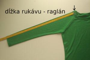 dĺžka raglánového rukávu - funkčné merino tričko froggywear