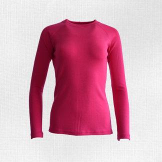 Dámske merino tričko Lehota sýtoružová