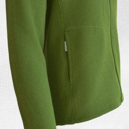panska merino mikina banikov zelena detail