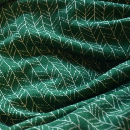 Merino vzor vetvičky na zelenej