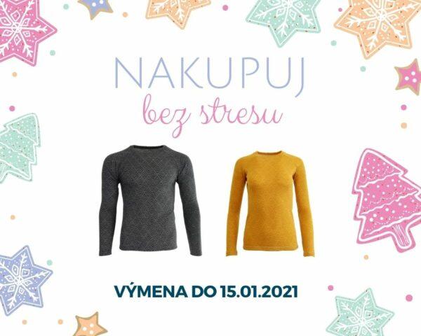 Vianoce bez stresu - vymena merina do 15.01.2021
