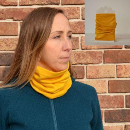 Univerzálna vlnená šatka Bôrik žltá
