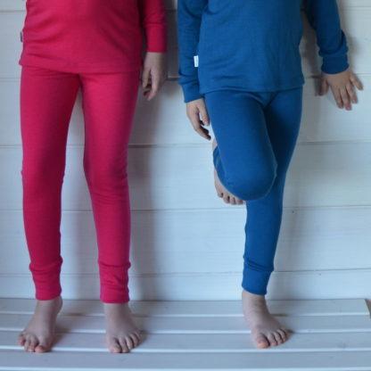 Zimné termo nohavice pre deti z merina